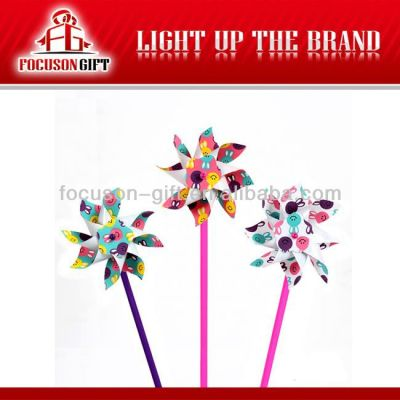 Customized logo Printing toy windmill