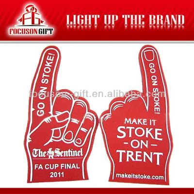 Sports Game Item promotional eva foam hand