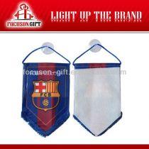 Sports club soccer flag