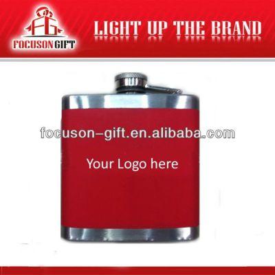 Portable Top Grade Small Capacity novelty hip flasks