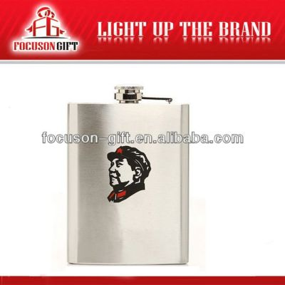 Portable Top Grade Small Capacity mini stainless steel hip flask