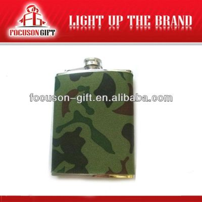 Portable Top Grade Small Capacity stainless steel hip flask