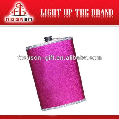 Portable Top Grade Small Capacity 7 oz stainless steel hip flask