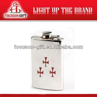 Portable Top Grade Small Capacity wine hip flask
