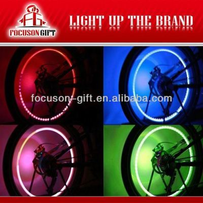 Decoration cool colorful glowing wheel lights
