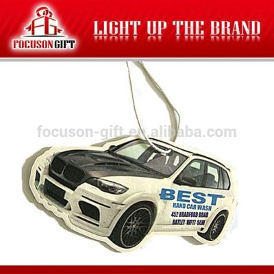 Promotion products Paper auto air fresheners