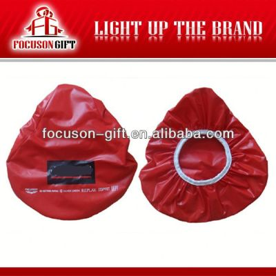 Promotional waterproof saddle cover