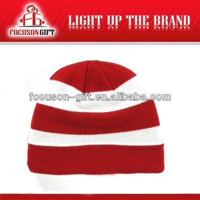 Advertising Gift Customized Logo custom knitted beanie hat