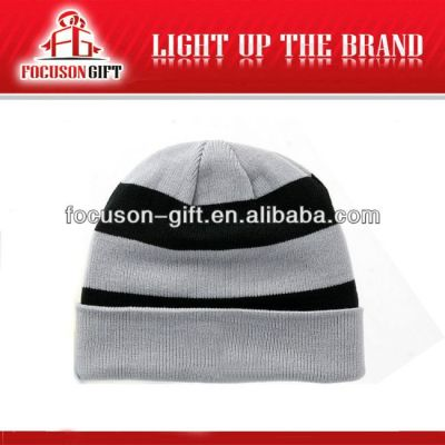 Newest Customized Logo Printed wool knitted winter hats