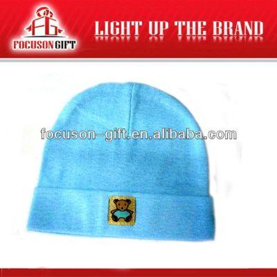 Advertising Logo Printed kids knitted hat