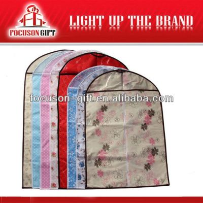 OEM Company Logo Promotional non-woven suit cover