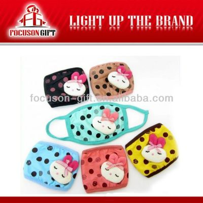 Promotional Dust Protecting fashion cotton mouth mask