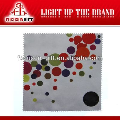 Company Logo Cleaning microfiber glass cleaning cloth