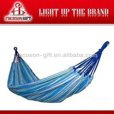 Customized logo outdoor 2 person hammock