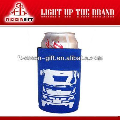 Customized logo printed beer bottle cooler bag