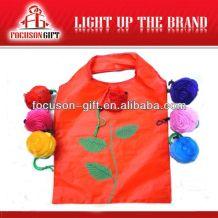 Company Logo Printed Fruit Design flower design shopping bag