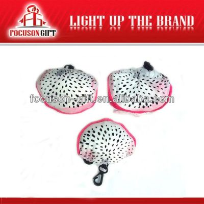 Company Logo Printed Fruit Design dragon fruit polyester bag