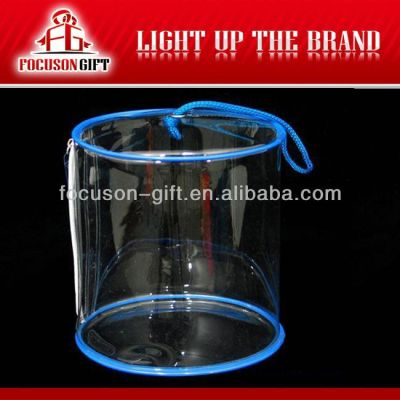 Advertising Company Logo Clear pvc cosmetic bag