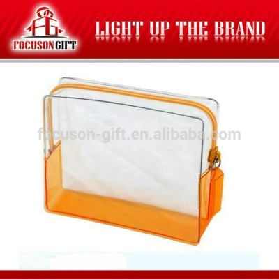 Advertising Company Logo Clear pvc plastic bag