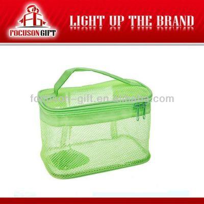 Advertising Company Logo Clear pvc wash bag
