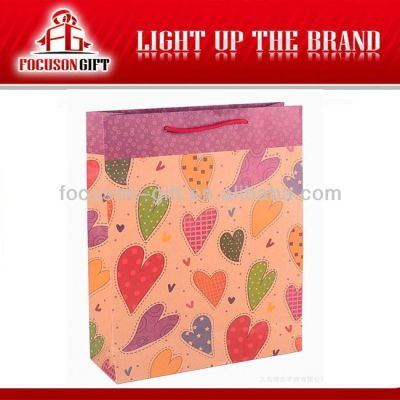 Customized logo Printing paper bag