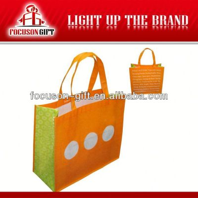 High Quality recycled reusable shopping bag