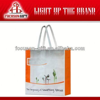 Customized logo printing plastic shopping bag