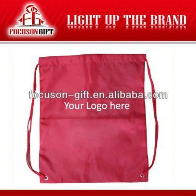 Best selling promotion vinyl drawstring bags
