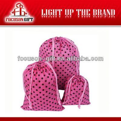 Best selling promotion nylon drawstring bags