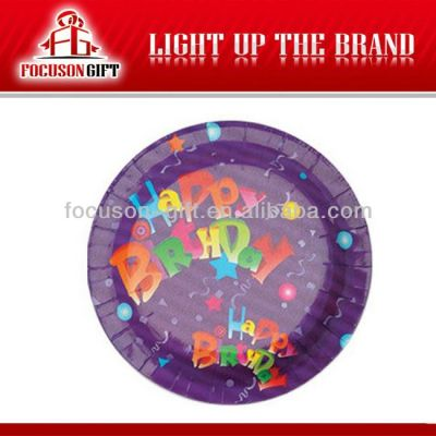 Food Grade Events Theme kids party paper plates
