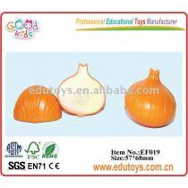 Artificial onion plastic kitchen vegetables EDUTOYS
