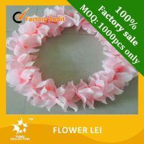 flower lei,hawaii flower necklace lei,hawaii lei,plastic flower lei