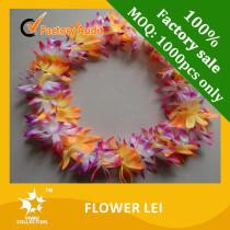 flower lei,hawaii lei,plastic flower lei