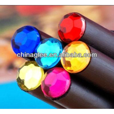 Wholesale black wooden pencil