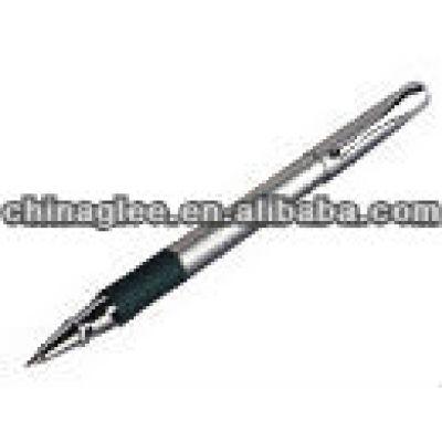Metal gel ink pen