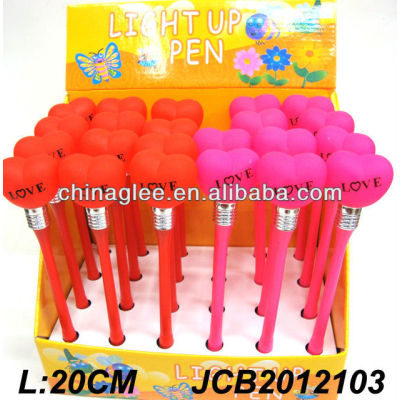 light up pen valentine's day pen