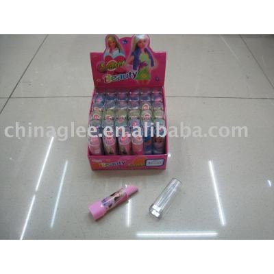 lipstick shaped eraser