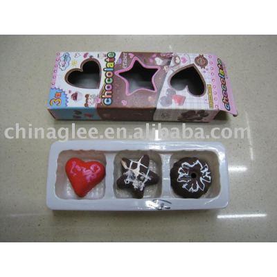 chocolate eraser valentine erasers