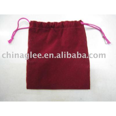 velvet drawstring pouch