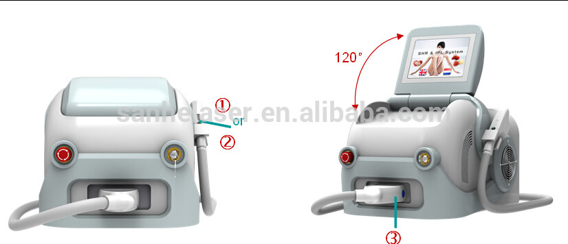 Newest Portable Permanent Diode Laser Permanent Hair Removal(CE)