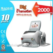 2014 Christmas Promotion IPL Hair Removal Beauty Equipment/ IPL E-light Multifunction Machine