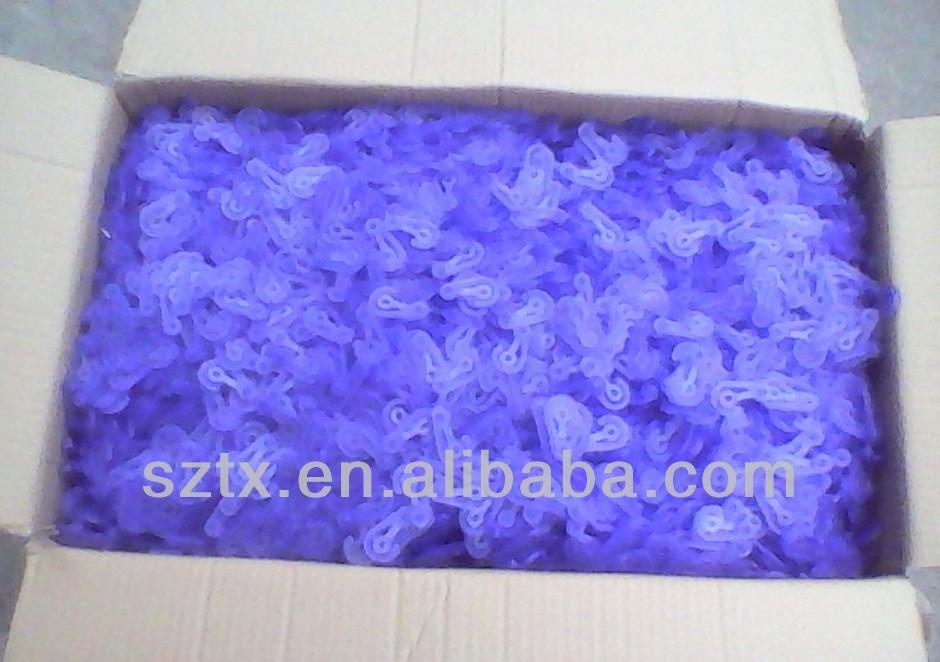 2014 best selling Plastic small J hooks for packaging