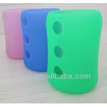 Heat Insulating Silicone Sleeve for Baby Bottle