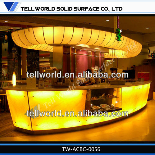Modern free standing bar counter design china free for Free standing bar plans