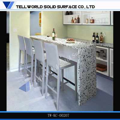 Hot Sale Modern And Fashion Solid Surface Corian Kitchen
