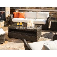 2014Outdoor resin wicker unique sofas for sale