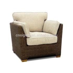 Hot Sale Outdoor Garden Luxury Rattan Single elegant rattan chair