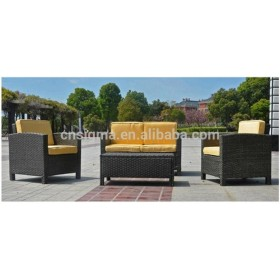 2014 Hot sale outdoor pvc wicker garden line patio furniture