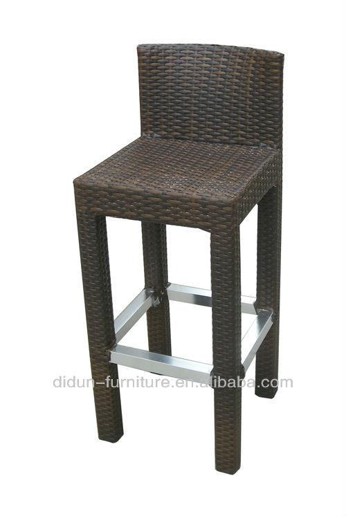 Synthetic rattan bar stools china
