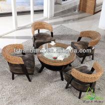 Modern Chic Rattan/Seagrass Starbucks Furniture